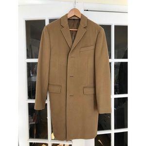 JCrew Ludlow Camel topcoat 38s